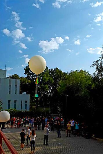 Săptămâna Școala Altfel - balon in aer